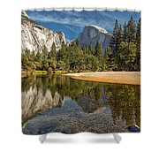Merced River View I Shower Curtain
