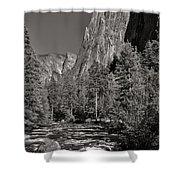 Merced River Yosemite Shower Curtain
