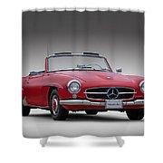 Mercedes-benz 190 Sl Shower Curtain