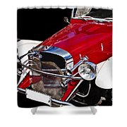 Mercedes Benz Shower Curtain