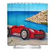 Mercedes Benz W196 Formula Shower Curtain