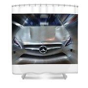 Mercedes Concept 2013 Shower Curtain