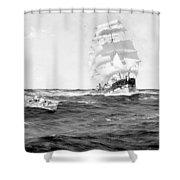 Merchant Ship, 1899 Shower Curtain