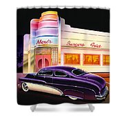 Mercs Burgers Shower Curtain