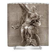 Mercury And Psyche Shower Curtain