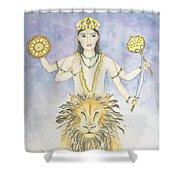 Budha Mercury Shower Curtain