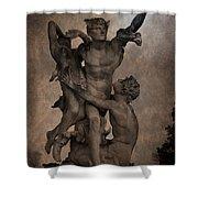 Mercury Carrying Eurydice To The Underworld Shower Curtain