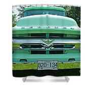 Mercury Grill Shower Curtain