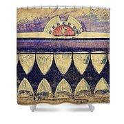 Mercury Grill Sketch Shower Curtain