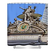 Mercury Mimerva And Hercules Shower Curtain