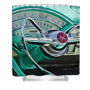 Mercury Montclair Shower Curtain