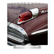 Mercury Monterey Taillight Shower Curtain
