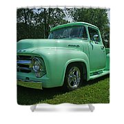 Mercury Pick Up Shower Curtain