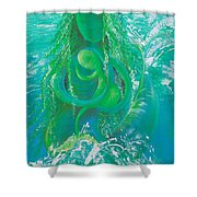 Merdonna Shower Curtain