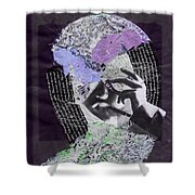 Mere Mortals Shower Curtain