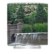 Meridian Hill Shower Curtain