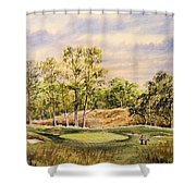 Merion Golf Club Shower Curtain by Bill Holkham