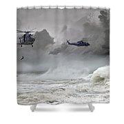 Merlin Rescue Shower Curtain