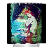 Mermaid Of The Tides Shower Curtain