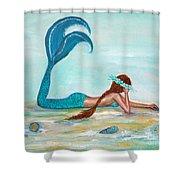 Mermaids Exist Shower Curtain