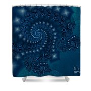 Mermaids Tale Shower Curtain