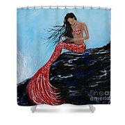 Mermaids Timeless Tales Shower Curtain