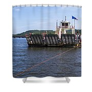 Merrimac Ferry - Wisconin Shower Curtain