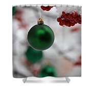 Merry Christmas 2 Shower Curtain