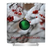 Merry Christmas 4 Shower Curtain
