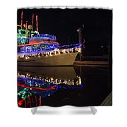 Merry Christmas Bandon By The Sea 2 Shower Curtain