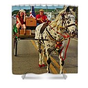 Merry Christmas Hatteras Nc 2 12/213 Shower Curtain