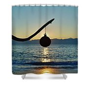 Merry Christmas Ornament 8 12/17 Shower Curtain