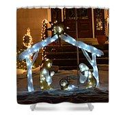 Merry Christmas - Peace On Earth Shower Curtain