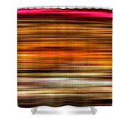 Merry Go Round Abstract Shower Curtain