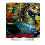 Merry Go Round II Shower Curtain