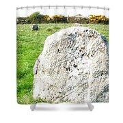 Merry Maidens Stone Circle Cornwall Shower Curtain