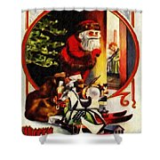 Merry Xmas Shower Curtain