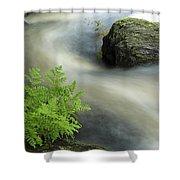 Mersey River Nova Scotia Canada Shower Curtain