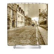 Merton Street Oxford Shower Curtain
