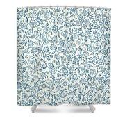 Merton Wallpaper Design Shower Curtain