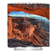Mesa Arch Frame Shower Curtain