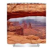 Mesa Arch In Canyonlands National Park Shower Curtain