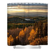 Mesa Sunset Shower Curtain