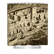 Mesa Verde National Park In Colorado Shower Curtain