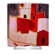Mesa Verde Original Painting Sold Shower Curtain