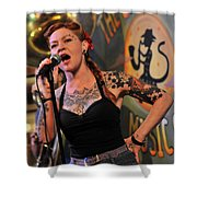 Meschiya Lake At Spotted Cat Shower Curtain