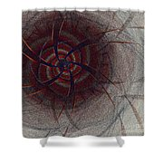 Mesmer By Jammer Shower Curtain