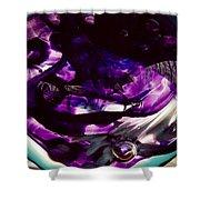 Mesmerize Purple Shower Curtain