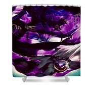 Mesmerize Purple II Shower Curtain