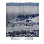 Mesmerizing Antarctica... Shower Curtain